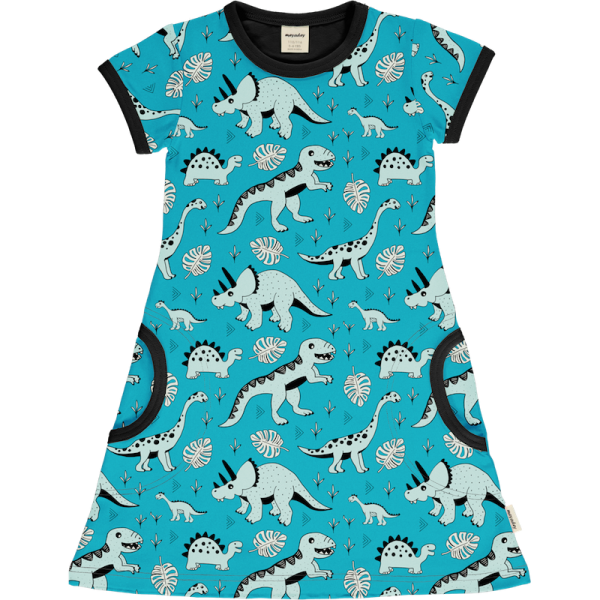Meyadey by Maxomorra Dress SS Dino Forest