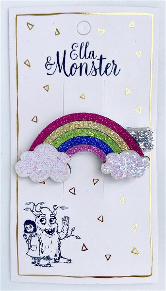 Ella & Monster Disco Rainbow Haarspange