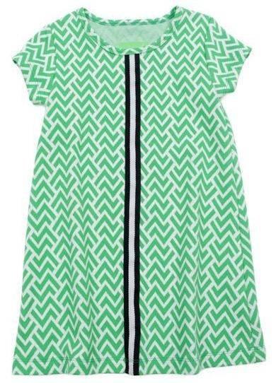 Lily Balou Aline Dress Jacquard Zigzag