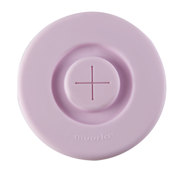 Muurla Silikon Deckel Light Pink
