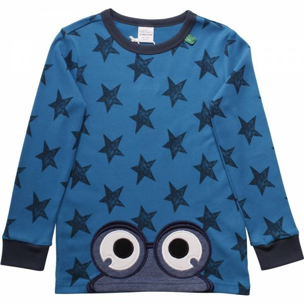 Fred`s World Star T-Shirt With Eyes Deep Blue