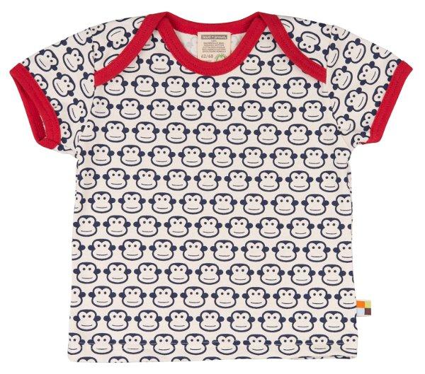 Loud + Proud T-Shirt Monkey Navy