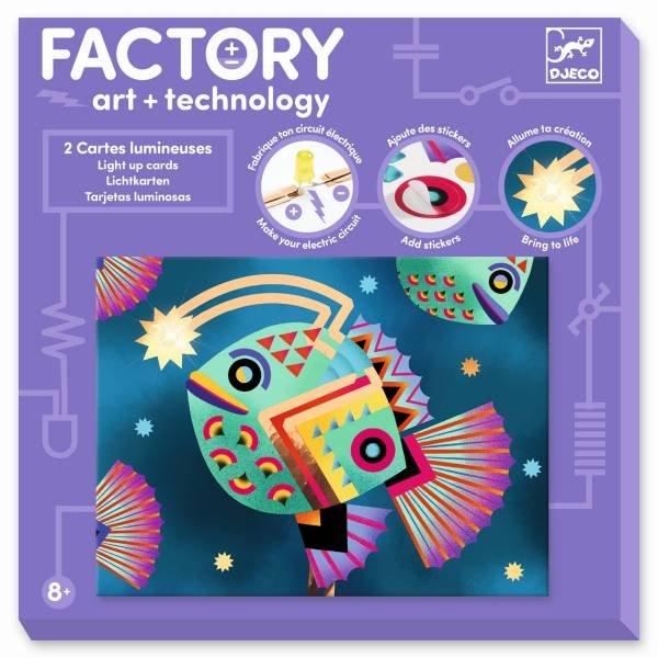 Djeco Factory - Bilder zum Beleuchten - Tiefsee