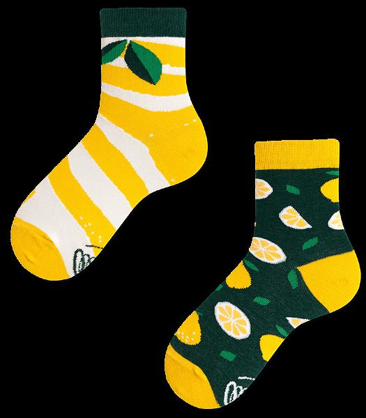 Many Mornings The Lemons Socks