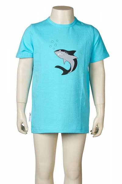 JNY colourful kids T-Shirt Frontprint Shark