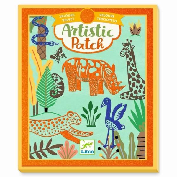 Djeco Artistic Patch - Wilde Tiere