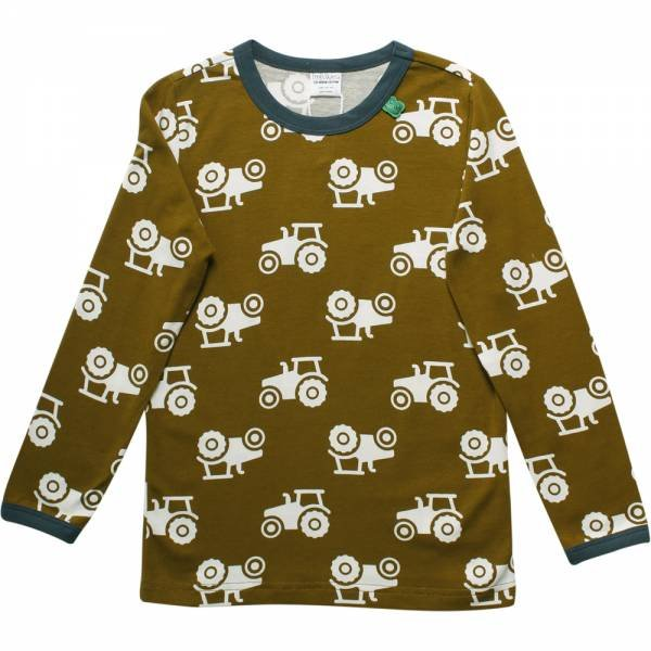 Fred`s World Tractor T-Shirt Dark Olive