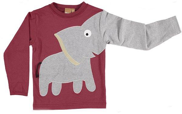 UBANG Elephant Tee Rust Red