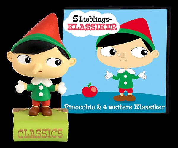 Tonies 5 Lieblings-Klassiker Pinocchio und 4 weitere Klassiker