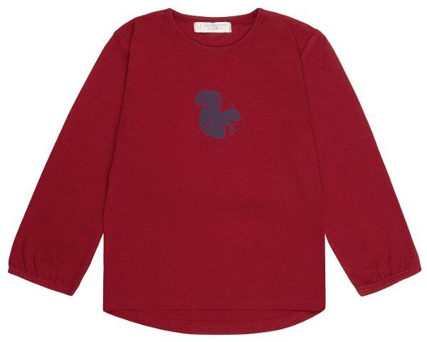Sense Organics Naemi Shirt LS Red Squirrel