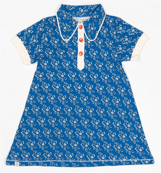 Albababy Julie Dress Snorkel Blue Liberty Love