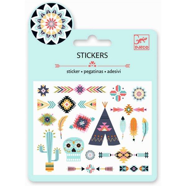 Djeco Mini Sticker Western Style