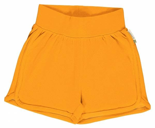 Maxomorra Runner Shorts Solid Tangerine