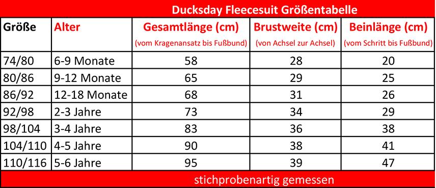 Ducksday-Groessentabelle-Fleeceanzug-1