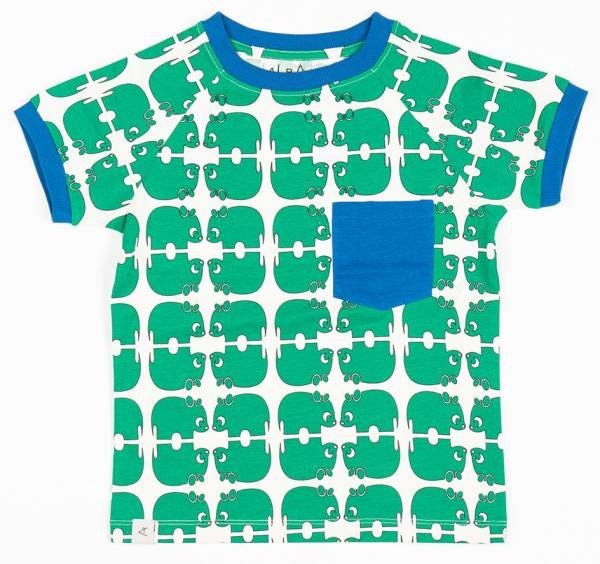 Albababy Simon T-Shirt Pepper Green Wanna Be An Animal
