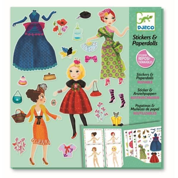 Djeco Paper Dolls Massive Fashion