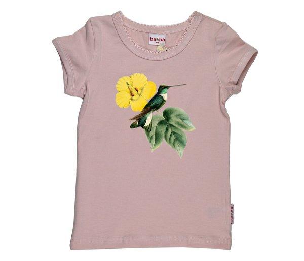 Baba Babywear T-Shirt Kolibri Pale Pink