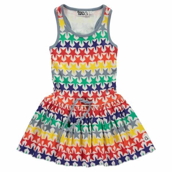 Boys & Girls Bright Stars Racer Back Dress
