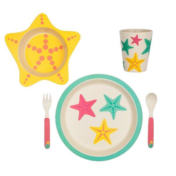 Sunnylife Eco Kids Meal Set Star Fish
