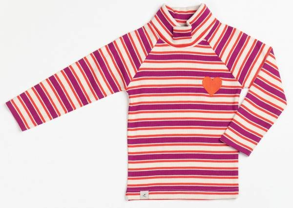 Albababy Westwind Highneck Blouse Boysenberry Magic Striped