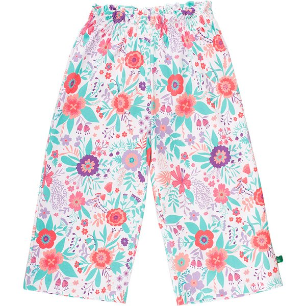 Fred`s World by Green Cotton Aloha Pants, White