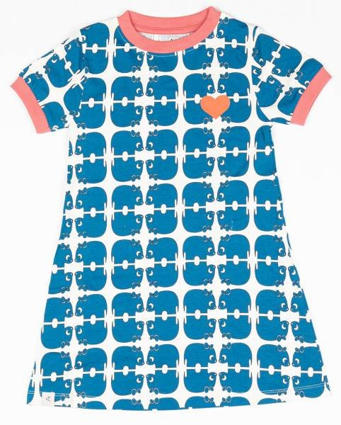 Albababy Vida Dress Snorklel Blue Wanna Be An Animal