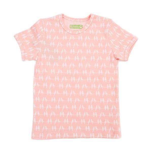 Lily Balou T-Shirt Leo Jacquard Birds
