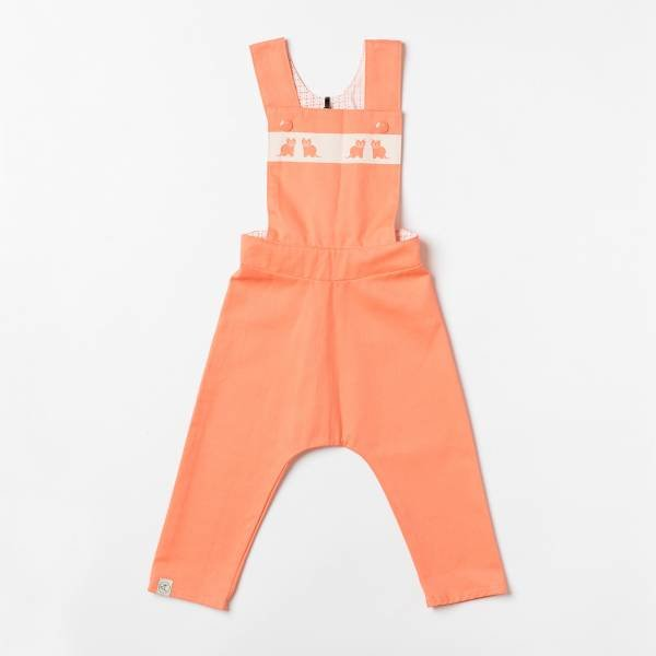 Albababy Kim Baggy Crawlers Fusion Coral