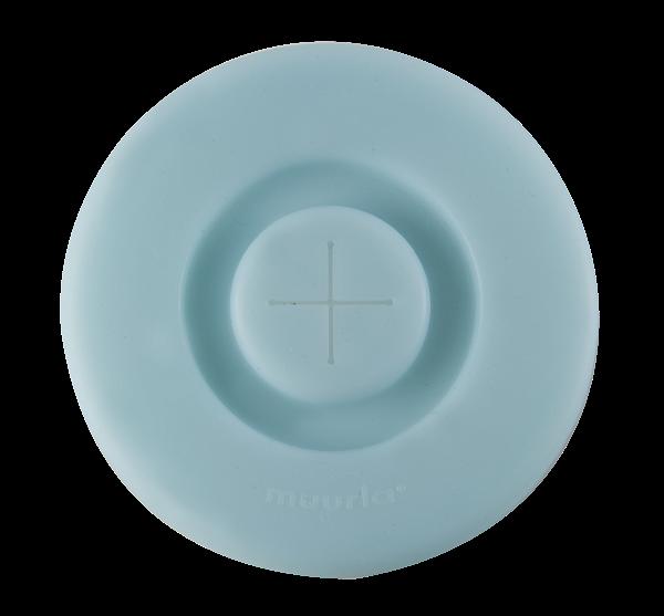 Muurla Silikon Deckel Light Blue