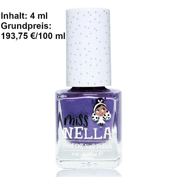 Miss Nella Peel Off Nagellack Sweeit Lavender new