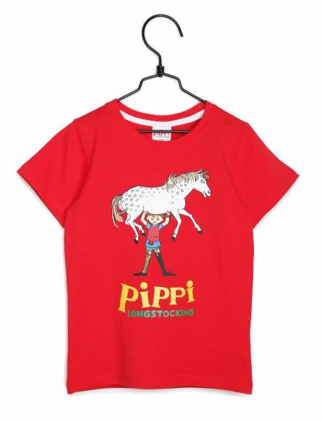 Martinex Pippi T-Shirt New Red