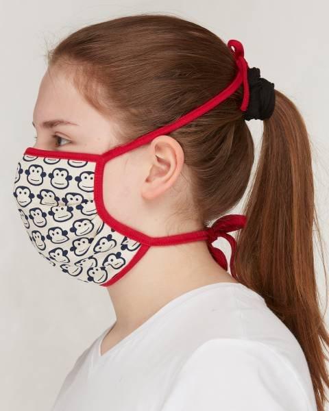 Loud + Proud Maske für Erwachsene Monkey Navy
