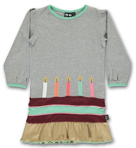 UBANG Birthday Dress Grey Melange