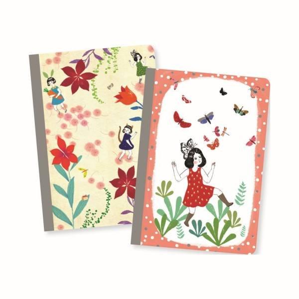 Djeco kleine Notizbücher Chichi
