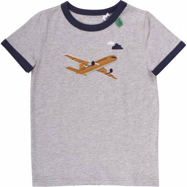 Fred`s World Airplane Front T-Shirt