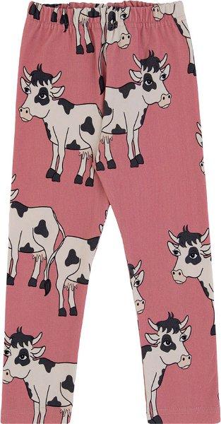 Dear Sophie Cow Pink Leggings
