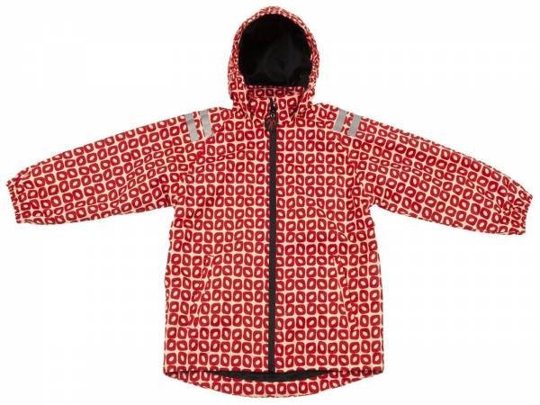 Ducksday Regenjacke Rainjacket Funky Red