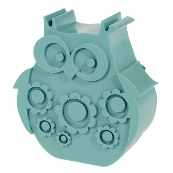 Blafre Lunchbox Owl Light Blue