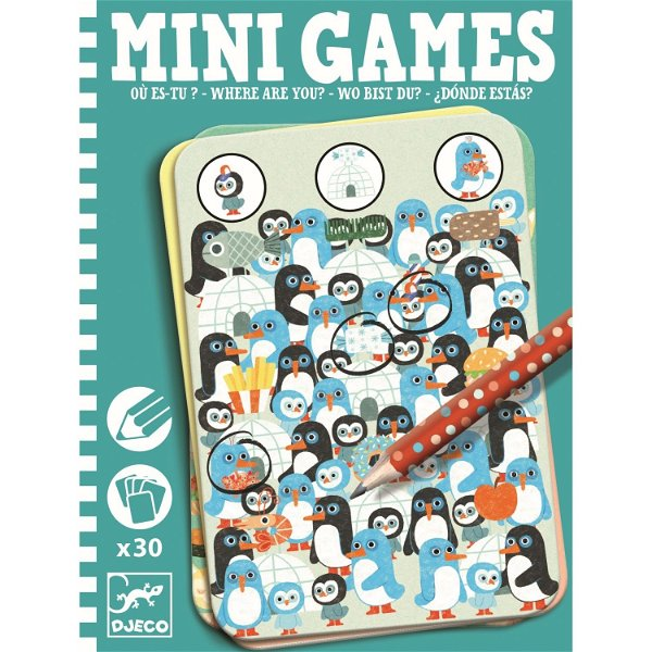 Djeco Mini Games Wo bist Du?