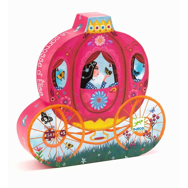 Djeco Puzzle Elise`s Carriage 54 Teile