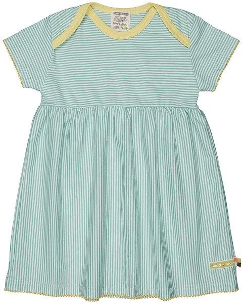 Loud + Proud Kleid Streifen, Mint
