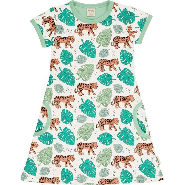Meyadey by Maxomorra Dress SS Tiger Jungle