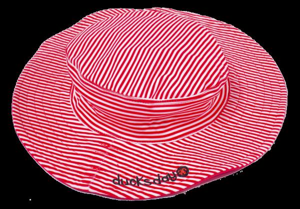 Ducksday UV Sonnenhut Red Stripe