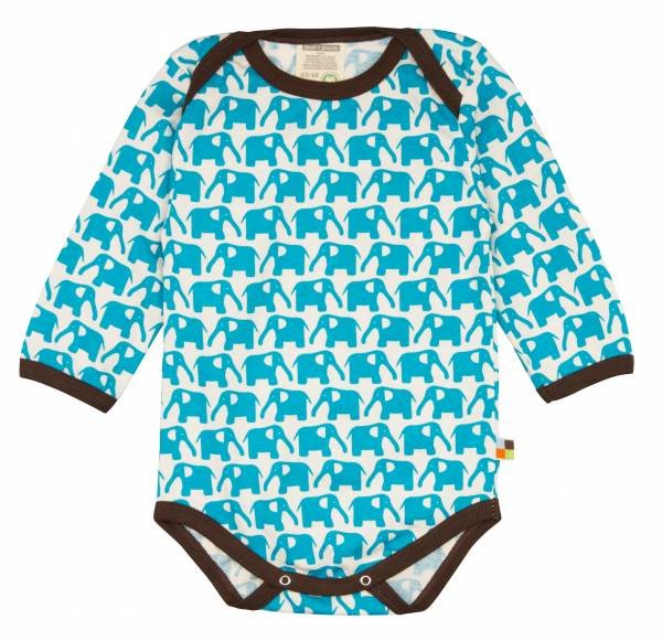 Loud + Proud Body LS Elephant Aqua
