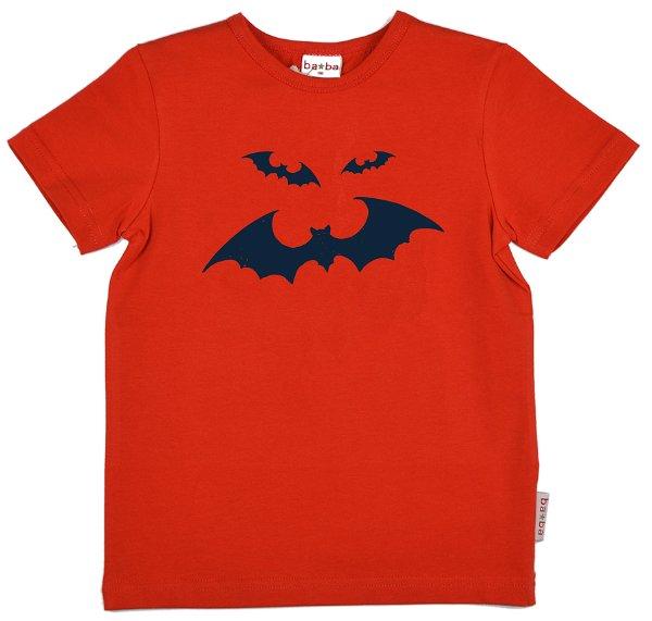 Baba Babywear T-Shirt Bat Red