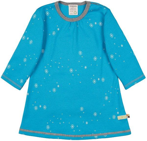 Loud Proud Kleid Schneeflocke Aqua