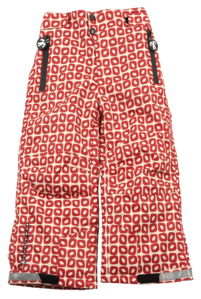 Ducksday Skihose / Schneehose Lined Winterpants Funky Red
