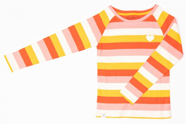 Albababy All You Need Tee Strawberry Ice Stripes