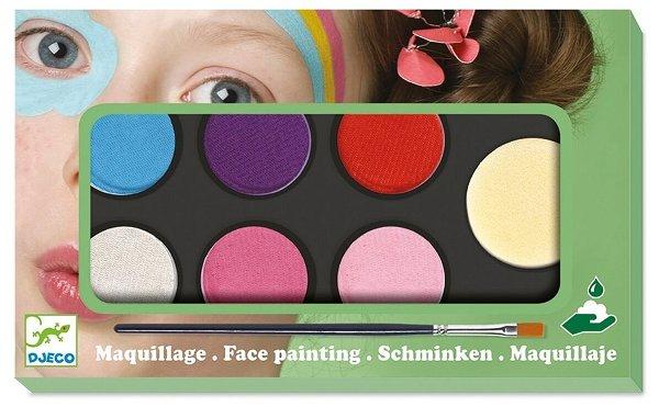 Djeco Kinderschminke mit 6 Farben - Sweet