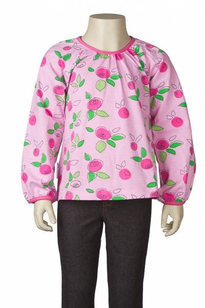 JNY colourful kids Puffy Shirt Lingonberry